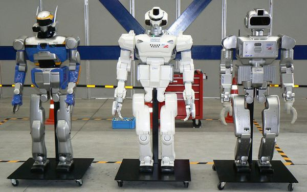 security guard robots