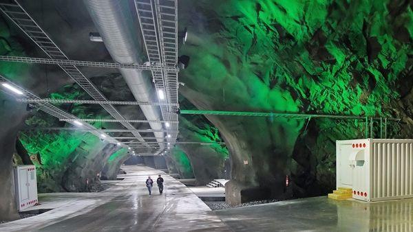 data center picture underground