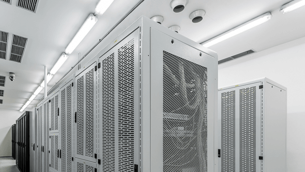 data storage inside data center