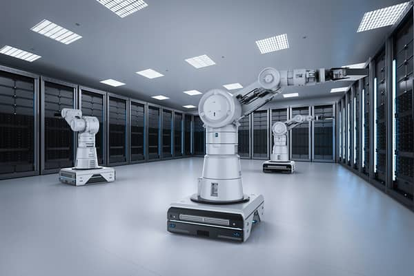 robots in a data center