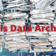 what is data archiving