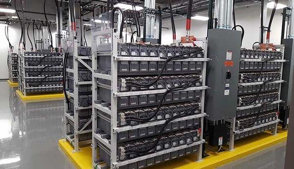 battery powered data center