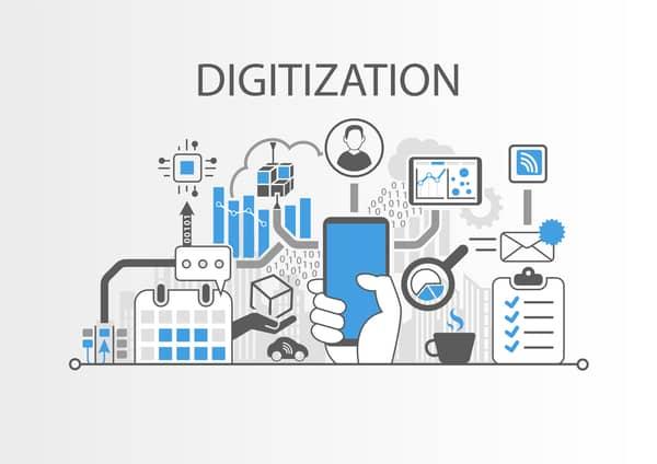 digitization of data